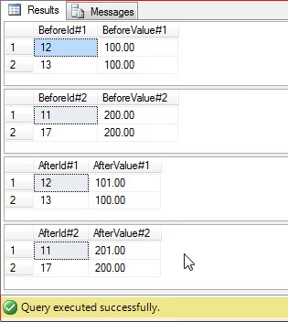 SQL 2012 Easy Transaction Example